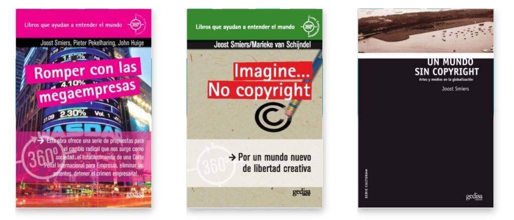 Libros de Joost Smiers en la editorial Gedisa